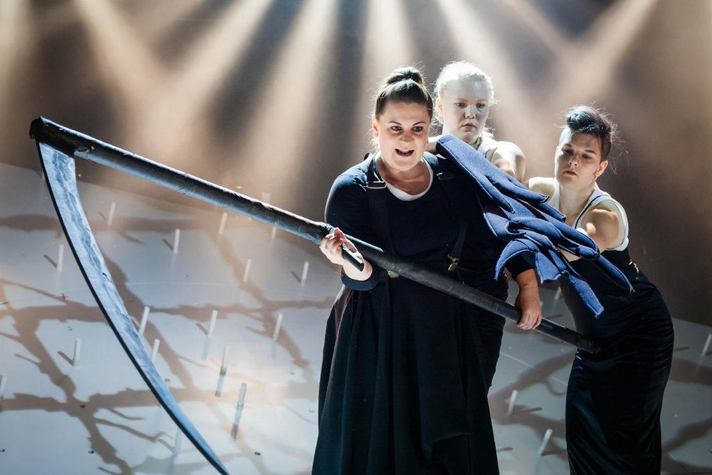 Kalevala, Åbo Svenska Teater, kuva Pette Rissanen.