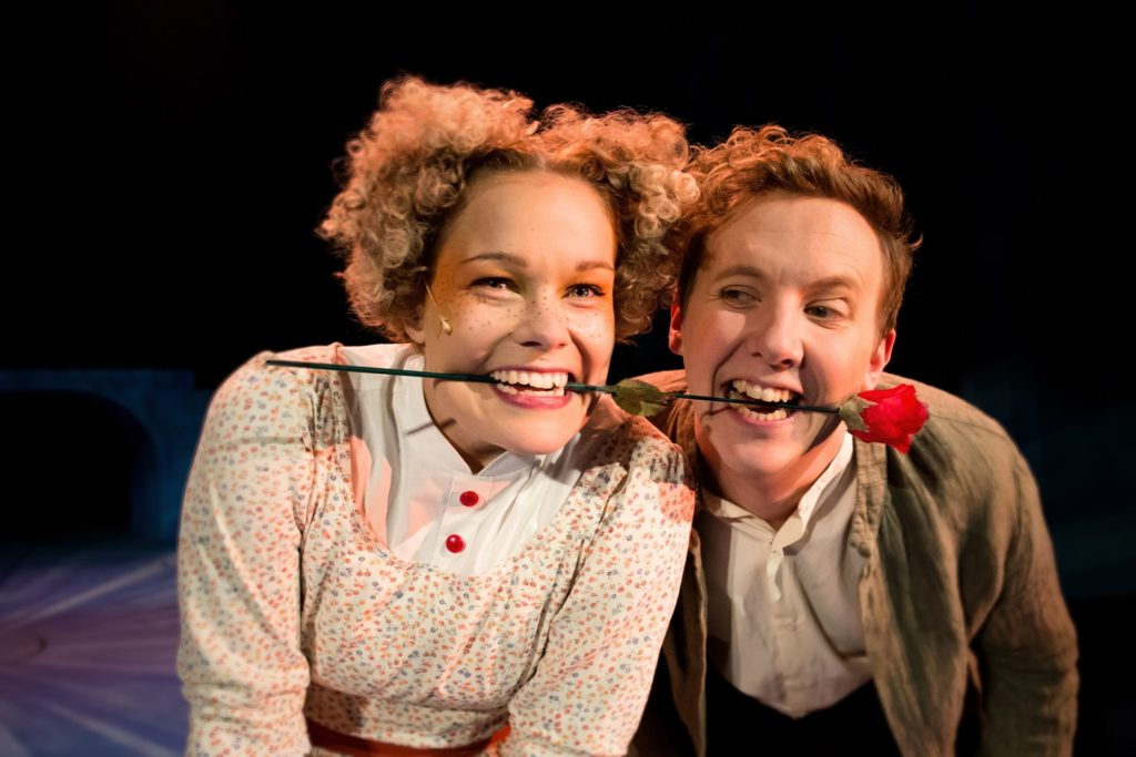 Amanda Nyman ja Samuel Karlsson