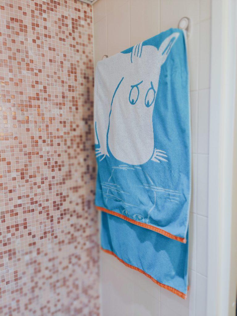 Muumihuone ihastuttaa Ruissalon Kylpylässä.